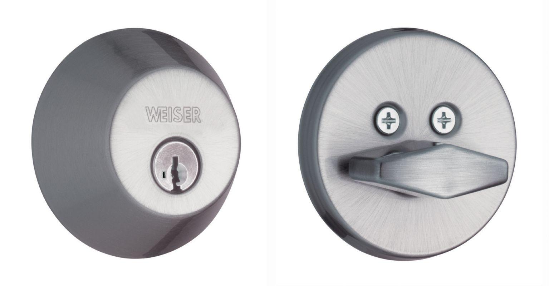 Weiser lock gd9471s single cylinder keyed entry deadbolt for Wei er lack