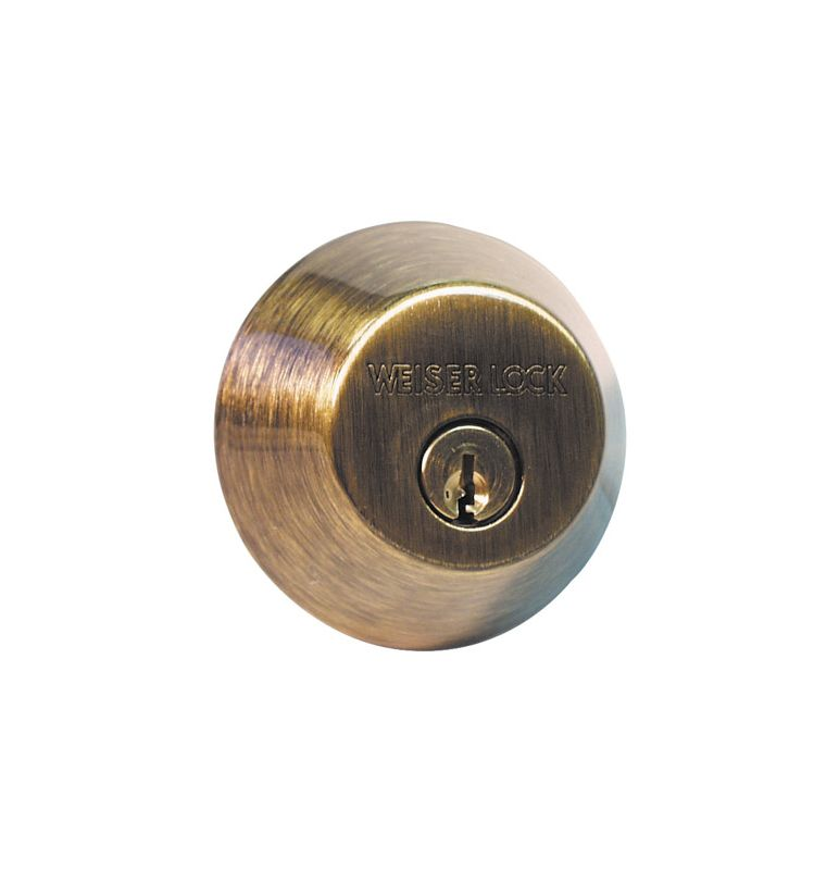 Weiser Lock Gd937115s Satin Nickel Double Cylinder Keyed