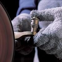 Baldwin Hand Polishing of Brass Lever