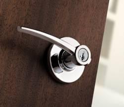 Kwikset Katara Contemporary Door Lever with SmartKey